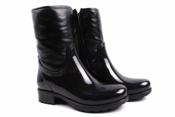 Ботинки Mida комбинированные, цвет черный