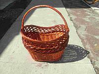 Плетеная корзина рыбак