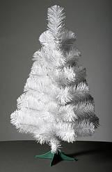 Ель Белая ПВХ 100 см Искусственная Елка Новогодняя 1 метр