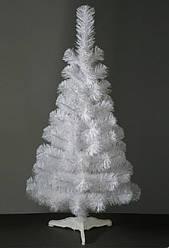 Ель Белая ПВХ 130 см Искусственная Елка Новогодняя 1,3 метра