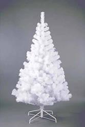 Ель Белая ПВХ 150 см Искусственная Елка Новогодняя 1,5 метра
