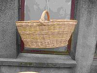 Корзина грибная плетеная из лозы