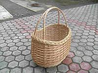 Корзина плетеная из лозы йопанка