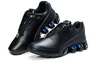 Кроссовки мужские Adidas Porsche Design P5000 Bounce S2 Leather Black Blue, фото 1