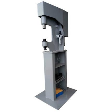 Заклёпочник пневматический для клёпки тормозных накладок (колодок)  ZPTN0212, фото 2