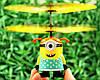 Игрушка Вертолет Летающий Миньон с Пультом, фото 2
