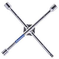 """Ключ балонний хрестової посилений для монтажу/демонтажу колісних болтів і гайок.17x19x21x1/2"""" СТАНДАРТ KBK2"""