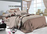 Двуспальный комплект постельного белья 180*220 сатин (8231) TM KRISPOL Украина