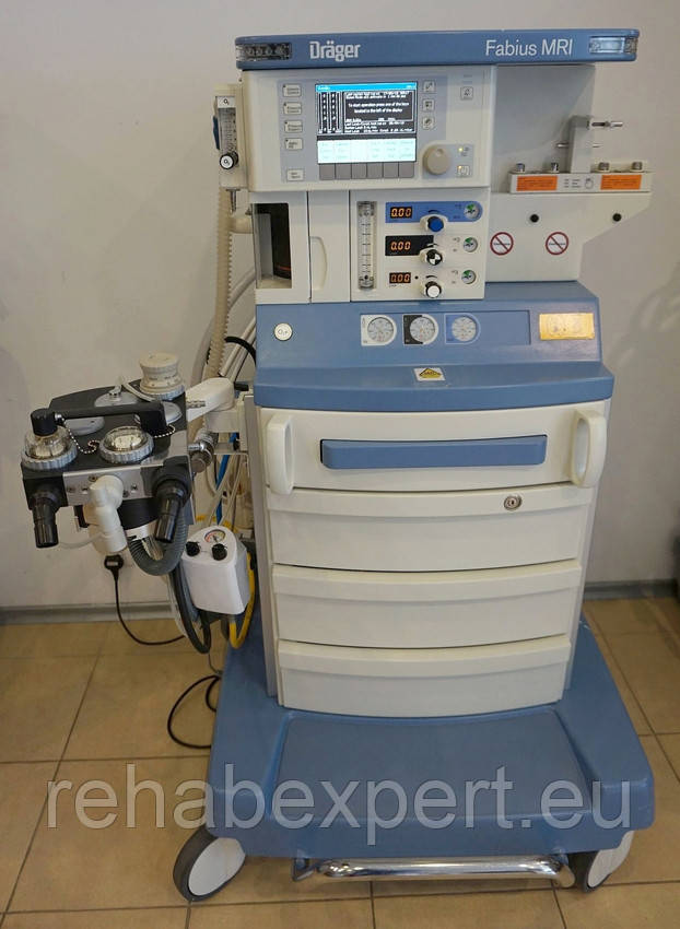 Наркозный аппарат для работы при МРТ Drager Fabius MRI Anesthesia Machine