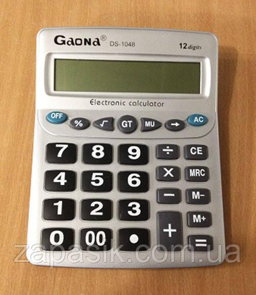 Калькулятор Gaona DS 1048
