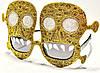 Карнавальные Очки Череп Прикол для Вечеринки Маскарад, фото 4