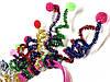 Карнавальный Ободок Цветные Шарики с Пружинками Прикол для Вечеринки Маскарад, фото 4
