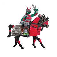 Игровой набор серии черепашки-ниндзя самураи – экскл. фигурка рафаэля на лошади