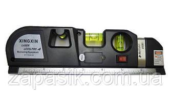 Лазерный Строительный Уровень Рулетка Линейка Метр Laser Level PR10