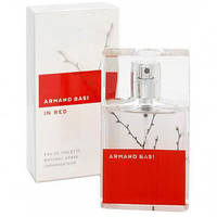 Женские ароматы Armand Basi in Red White (романтичный цветочно-древесный аромат)