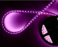 Светодиодная лента розовая