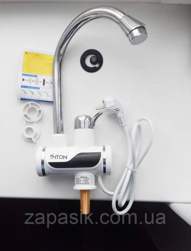 Мгновенный Проточный Водонагреватель с Насадкой для Душа Instant Electric Heating Water Faucet i Shower