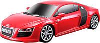 Игровая автомодель Audi R8 V10 со светом и звуком (красный), 1:24, Maisto