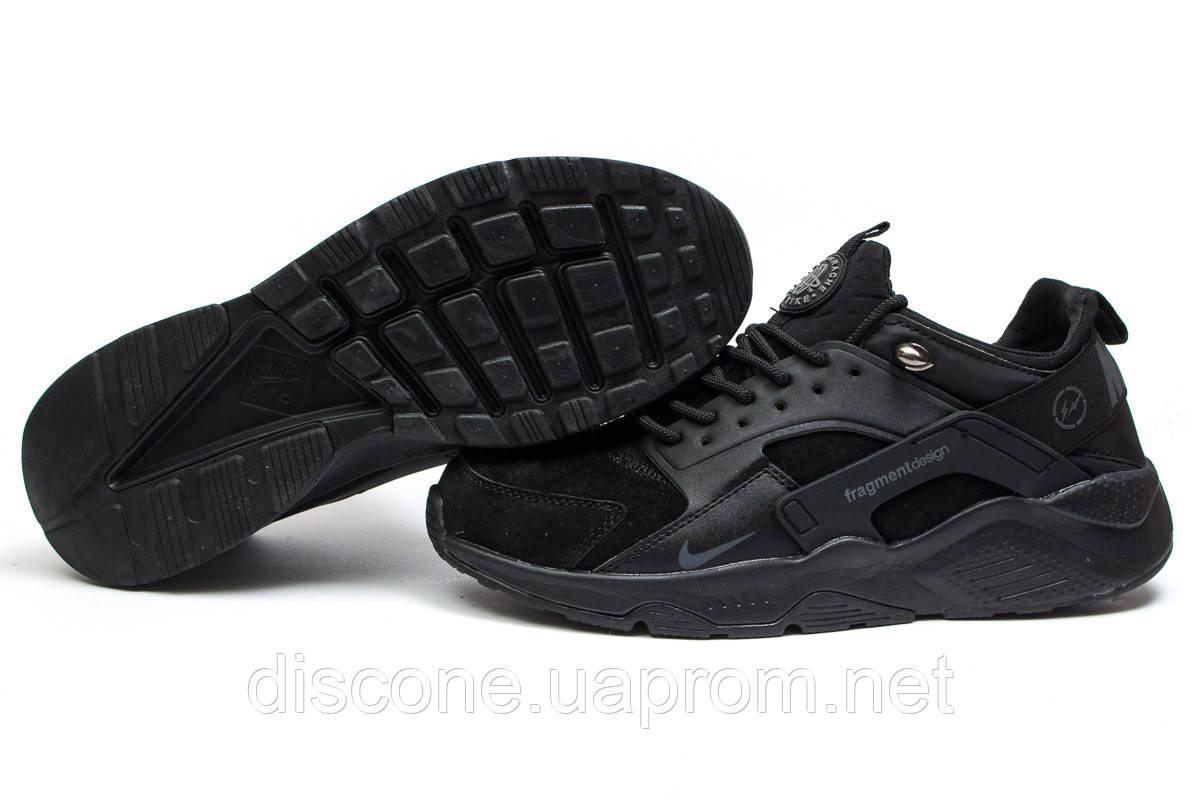 Кроссовки мужские 14032 ► Nike Air Huarache, черные ✅Скидка % ► [ нет в наличии ]