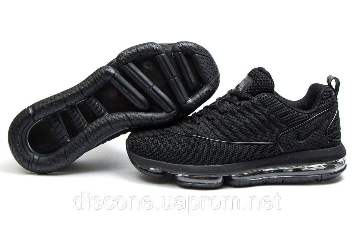 Кроссовки мужские 14052 ► Nike Air Max, черные ✅Скидка 30% ► [ 43 44 45 ]
