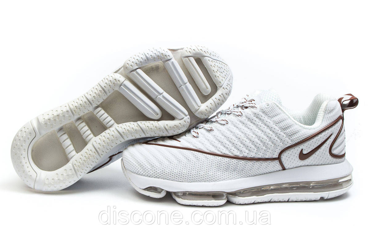 Кроссовки мужские ► Nike Air Max,  белые (Код: 14054) ► [  42 43  ] ✅Скидка 33%