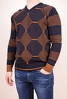 Свитер мужской тонкой вязки LE GUTTI (Acryl 50%,Cotton 50%) Размеры в наличии : 50,52 арт.900-43