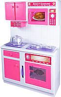 Кухня кукольная со световыми и звуковыми эффектами, Современный дом 2, QunFengToys