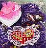 Мягкий Магнитик Сердечко Подарок ко Дню Святого Валентина 50 шт в Упаковке, фото 2