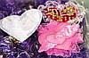 Мягкий Магнитик Сердечко Подарок ко Дню Святого Валентина 50 шт в Упаковке, фото 3