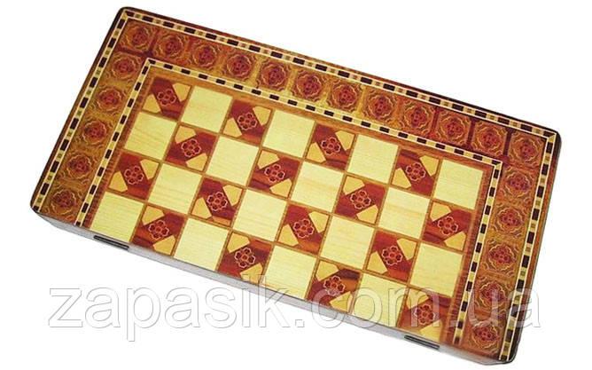 Набор 3 в 1 Шахматы Шашки Нарды 14 х 29 см