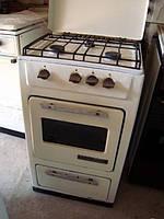 Газовая недорогая компактная двукамфорная плита с духовкой  б/у
