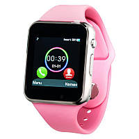 Smart Watch A1 Pink (with SIM + MicroSD + Camera)