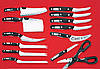 Набор Кухонных Ножей Miracle Blade World Class, фото 3