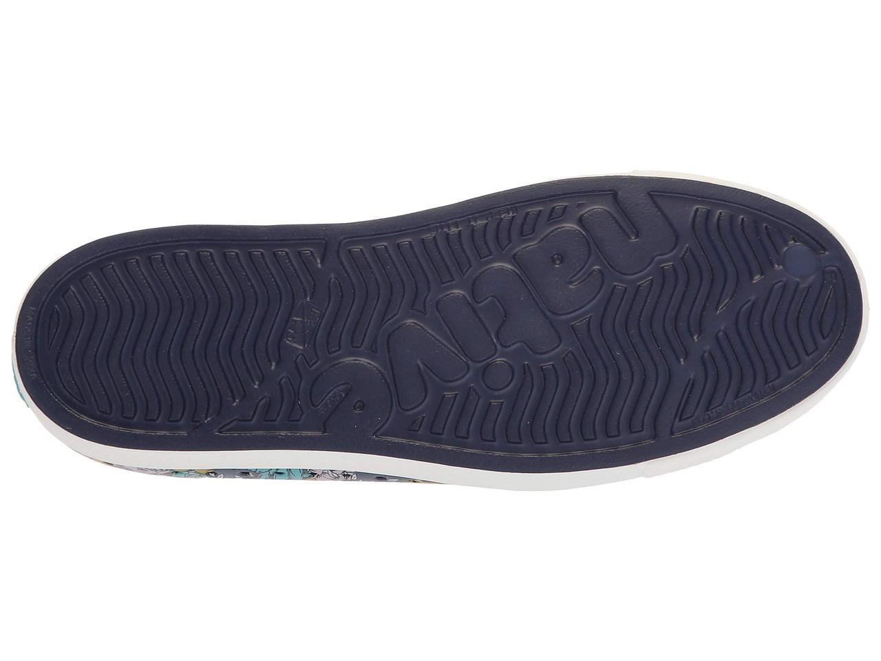 e5f1141eabc3 ... Кроссовки Кеды (Оригинал) Native Shoes Jefferson Regatta Blue Shell  White Jardin ...