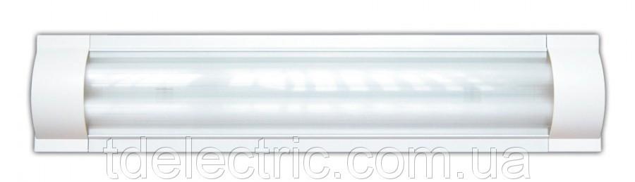 Светильник люминесцентный TL3017 2*18W без ламп EC