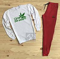 Спортивный костюм Lacoste Лакоста бело красный (РЕПЛИКА) be215f2735182