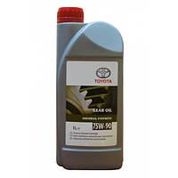Трансмиссионное масло TOYOTA 75w90 1л