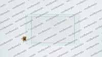 "Тачскрин (сенсорное стекло) для Explay Surfer 7.03, DY-F-07027-V4, 7"", размер 186x109 мм, 6 pin, белый"