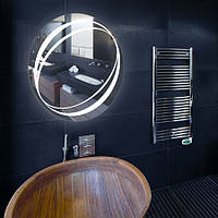 Круглое зеркало  «Pellet» с подсветкой