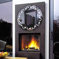 Круглое зеркало  «Plume» с подсветкой, фото 1