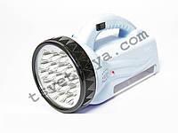 Фонарь ручной светодиодный GD-LITE OJ-222, аккумулятор, 19+28 диодов, 35 часов работы, зарядка от сети