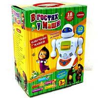 Игра-робот «В гостях у Маши» + наклейки, раскраски, фото 1