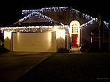 Гирлянда LED бахрома 120 светодиодов (мульти, белая, синяя, розовая) ), фото 4