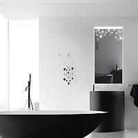 Прямоугольное зеркало «Snow» с подсветкой