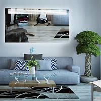Прямоугольное зеркало «Parallel» с подсветкой