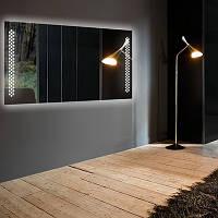 Прямоугольное зеркало «Sotel» с подсветкой, фото 1