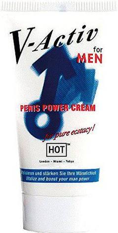 Стимулирующий крем для мужчин Hot V-Activ Penis Power Cream, 50 мл, фото 2