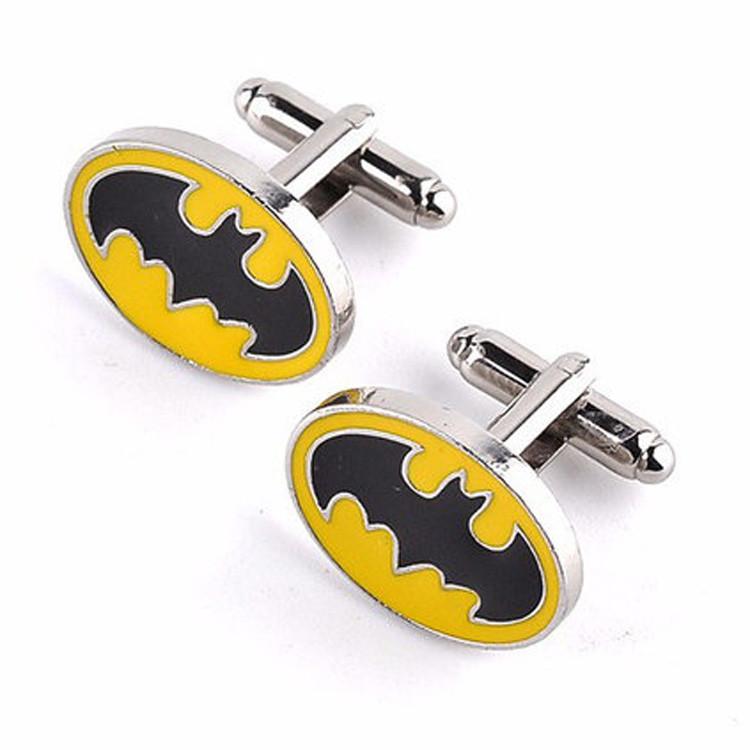 Запонки Batman  Бетмен для любителей кино и комиксов про Бетмена, для поклонников Мэлоуна