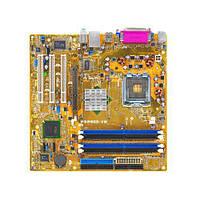 Материнская плата Asus P5P800-VM (s775, 2xSATA, 4xDDR, 3xPCI, AGP, uATX) (P5P800 VM)