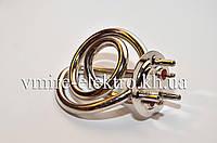Тэн для чайника спиральный хром Латунь 2000 ват (Электрокипятильник), фото 1